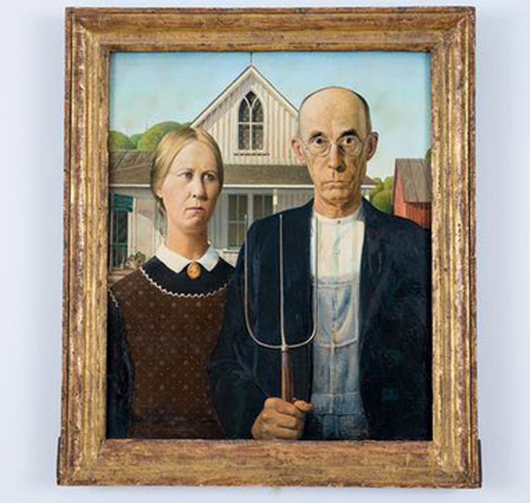American Gothic arrives in London for Royal Academy show - The South ...