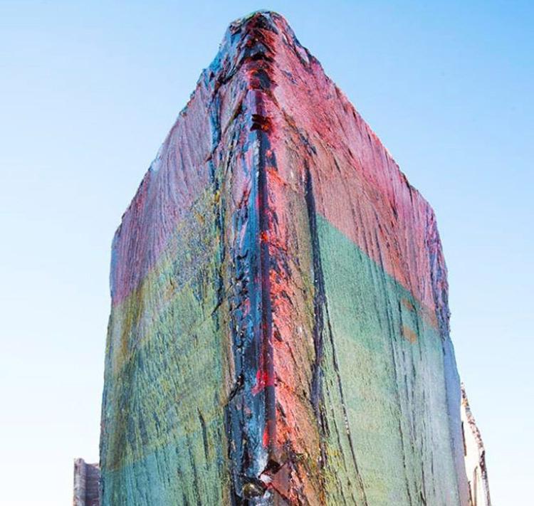 Artist Erects Immense, Illegal Sugar Sculpture in Warehouse