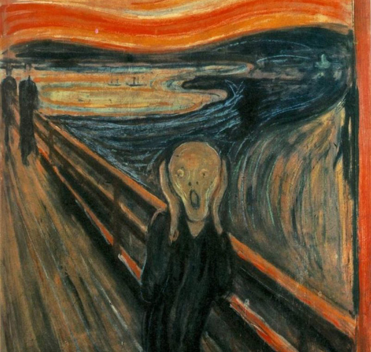 Did a Freak Cloud Incident Inspire Munch's 'The Scream'?