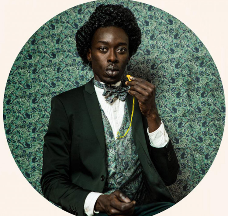 Self-Portraits of the Artist as Historical African Figures