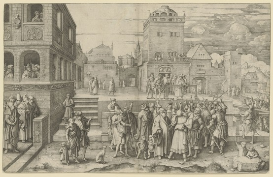 Dutch engraver who influenced Rembrandt shines in Munich