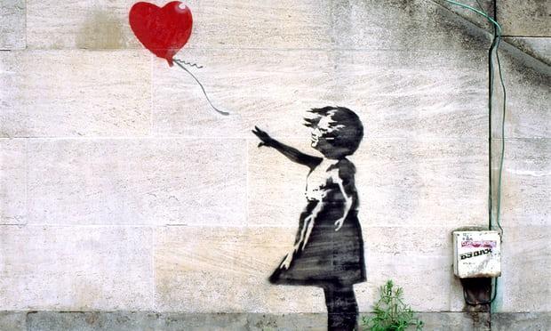Street Art Künstler Banksy