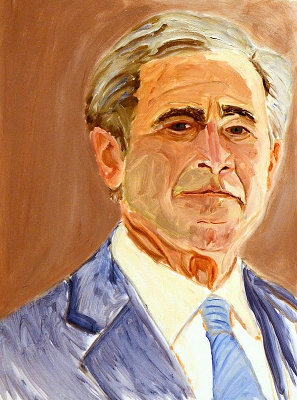 George W Bush S Art Of Leadership Paintings Are Now The