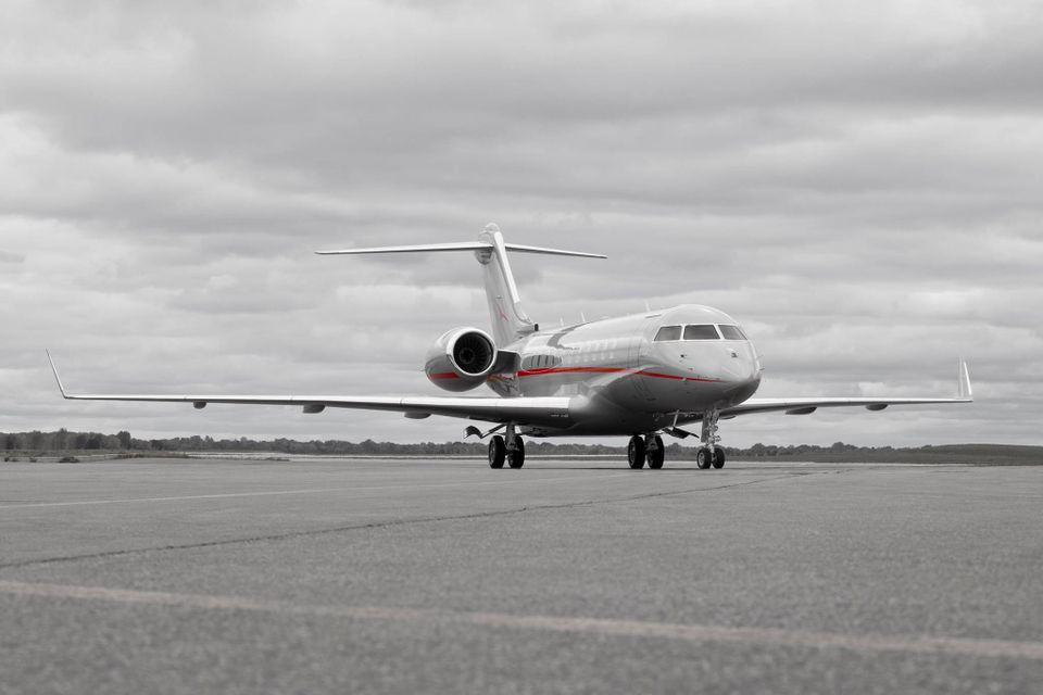 Christie's private jet tour prepares for take off