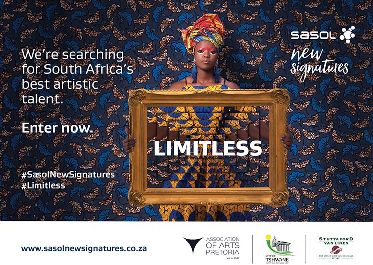 Sasol New Signatures Art Competition 2018 – #Limitless