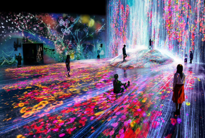 Japanese Art Collective TeamLab Is Bringing Its High-Tech Selfie Bait to New York in 2019