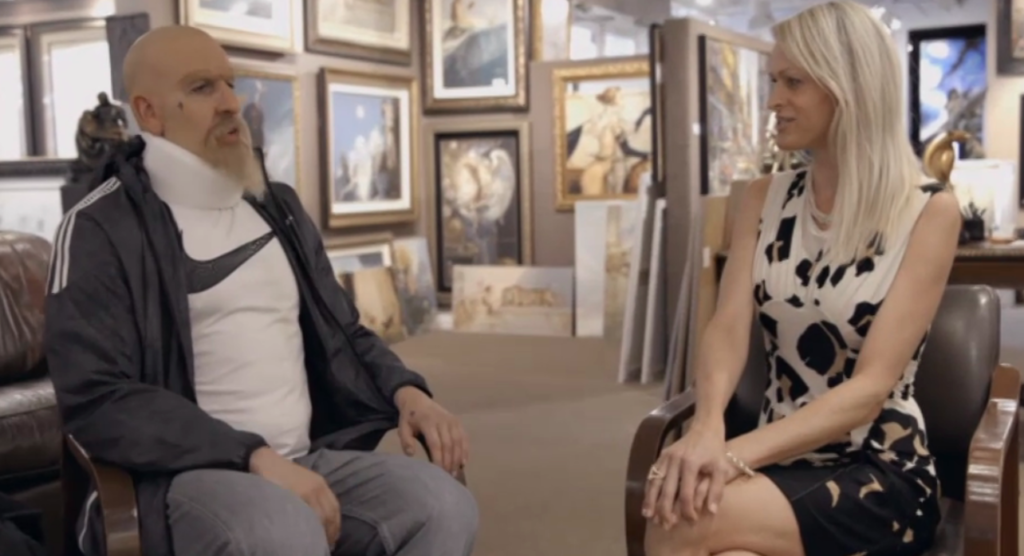 In 'Who Is America?', Sacha Baron Cohen Tries to Dupe an Art Advisor. Can You Guess How She Fared?