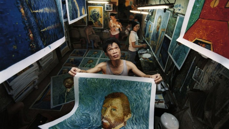Watch a Van Gogh Replica Painter in China Fulfill His Dream of Going to Europe to See the Real Thing