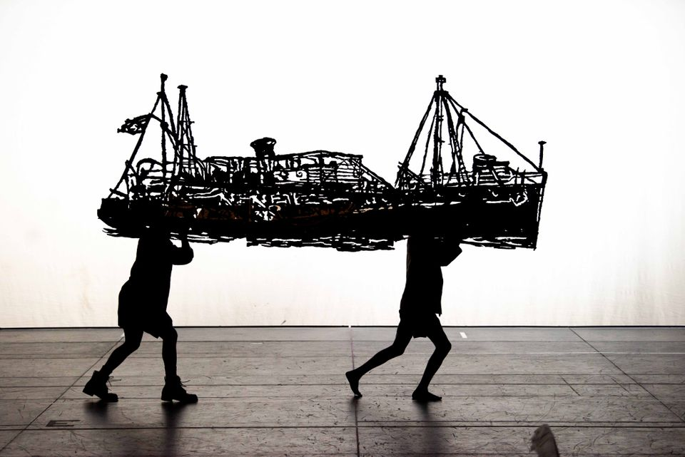 William Kentridge outplays the England match with Tate premiere of performance The Head and the Load