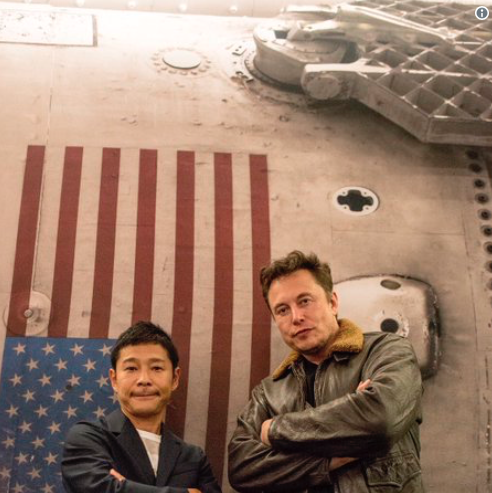 Elon Musk plans to launch Japanese billionaire collector Yusaku Maezawa and eight artists into space