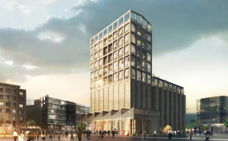 Heatherwick unveils gallery inside grain silo complex for Cape Town
