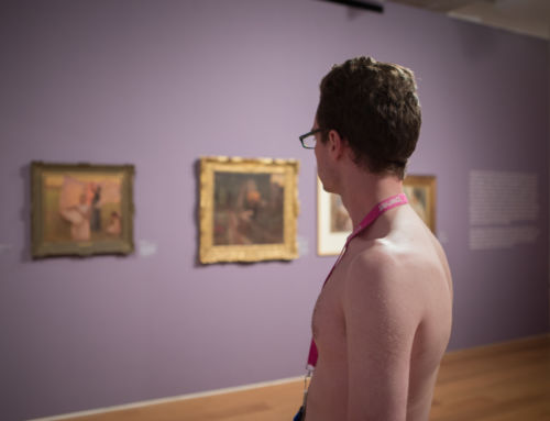 The Naked Truth: Does a Gallery-Going in the Nude Make Art Look Better? We Investigated