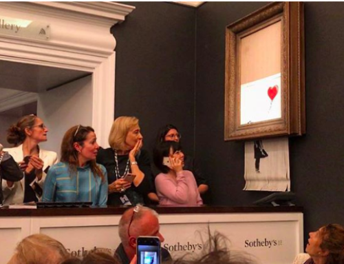 Here's What Really Happened With Banksy's Art-Shredding Stunt at Sotheby's