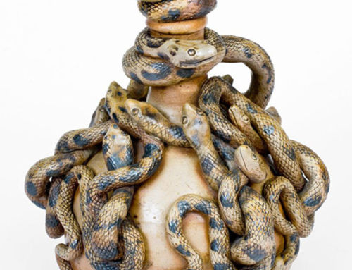 Holy grail of folk ceramics made by 19th-century snake handler breaks auction record
