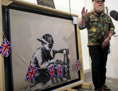 Ron English Will Whitewash the $730,000 Banksy Mural He Just Bought to Protest the Removal of Street Art