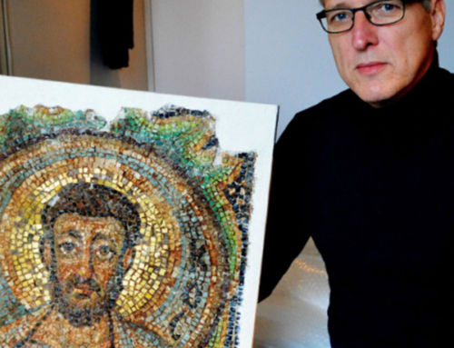 'Indiana Jones of the art world' recovers stolen 1,600-year-old mosaic