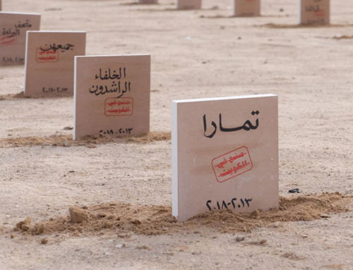 Why I made a cemetery for hundreds of banned books in Kuwait