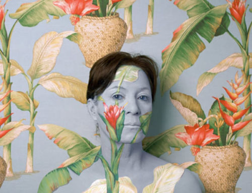 Portraits of the artist as wallpaper – in pictures
