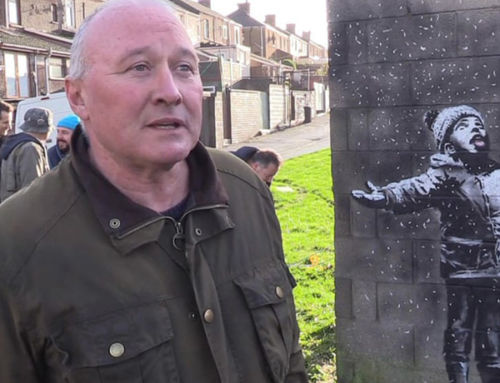 Crowds, vandals, chaos: what happens when Banksy sprays your wall?