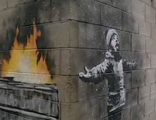 The new Banksy artwork is wrecking a garage owner's life