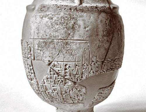 British Museum realises 'vase' is in fact an ancient mace-head displayed upside down