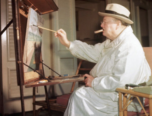 'Audacity Is the Only Ticket': How Winston Churchill, an Amateur Artist, Treated Painting as a Battlefield