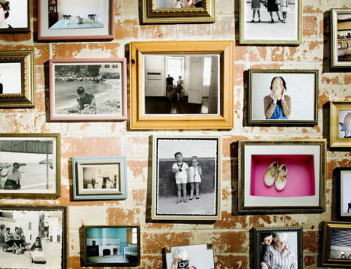 Humble clip-frame makes way for the chic 'gallery wall'