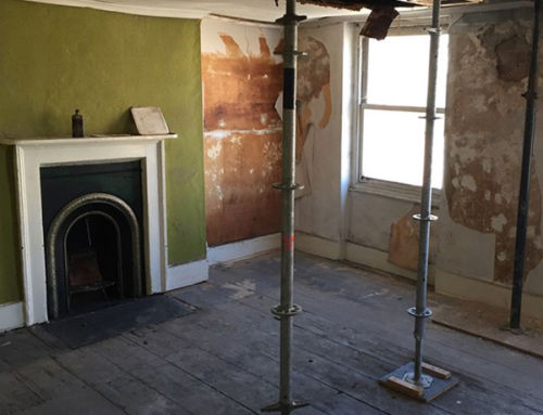 Discoveries under the floorboards of Van Gogh's bedroom in Brixton