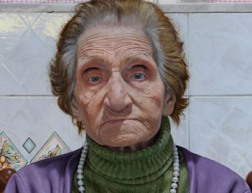 Image of artist's grandmother shortlisted for BP portrait award