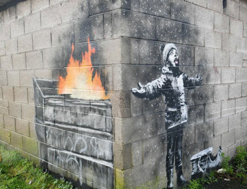 Banksy: graffiti has become more valuable for what it is than what it says