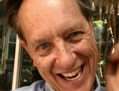 ACT 25 Years – SA Educated, Oscar Winning Richard E Grant wishing the ACT all the best