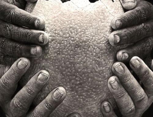 Eban Draws 'Fragile' Art@Africa