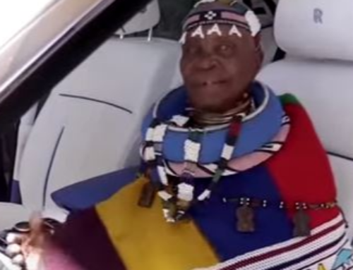 Mahlangu puts her touch to the Rolls-Royce interior.